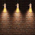 GreenSun LED Lighting Edison E27 Rosegold Lampe Socket Plafond Lampe Base Retro Titulaire pour Lampes Suspendue Support Adaptateur Éclairage Douille avec Interrupteur de la marque GreenSun LED Lighting image 4 produit