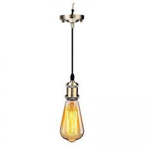 GreenSun LED Lighting Retro Edison E27Aluminium Alloy Lampe Douille avec 1.2m Câble Couverture Douille Douille Socket Pied de Lampe Vintage Support pour lampe de la marque GreenSun LED Lighting image 0 produit