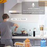 Grefic Prise Connectée WiFi Compatible avec Alexa/Google Home/IFTTT pour la Commande Vocale,aucun hub requis,Télécommande Programmable et Fonction de Minuterie via Android iOS Phone(2 pack) de la marque Grefic image 3 produit