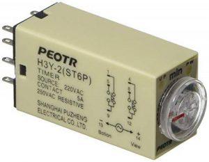 H3y-2220VAC 8P 0–60minutes minuterie DPDT Relais de temporisation de la marque Sourcingmap image 0 produit
