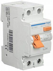 Hager Cd748v Interrupteur différentiel type c.a. 2p 40A 30mA de la marque Hager image 0 produit