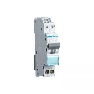Hager Disjoncteur 1pôle + N 6kA Type C 16A Quick Connect mls516 de la marque Hager image 0 produit