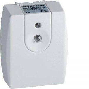 Hager-Interrupteur crépusculaire avec parois cellulaires Ee702 intégré 1 Vitesse 10a de la marque Hager image 0 produit