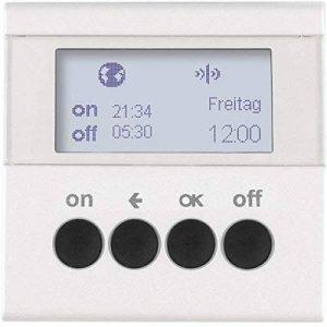 Hager–Programmateur lumière RF Quicklink sans b blanc polaire mat de la marque Hager image 0 produit