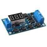 Haljia Tableau de contrôle Circuit double MOS Minuteur/retardateur/commutateur Remplacement de module de relais CC 24V/12V de la marque HALJIA image 1 produit