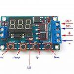 Haljia Tableau de contrôle Circuit double MOS Minuteur/retardateur/commutateur Remplacement de module de relais CC 24V/12V de la marque HALJIA image 3 produit