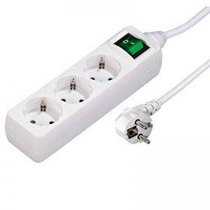 Hama Bloc multiprises, 3 prises, avec interrupteur, 3m, Blanc de la marque Hama image 0 produit