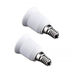 Haobase adaptateur de convertisseur de douille de base de l'ampoule de lampe de lampe de 2PCS (E14 à E26/E27) de la marque Haobase image 0 produit