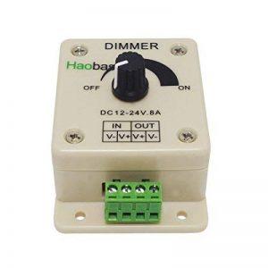 Haobase PWM Variateur pour Lampes LED Rubans Bandes 12V-24V 8A de la marque Haobase image 0 produit