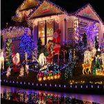Happyit 4 M 40 LED Waterproof String Lights Xmas Holiday light Lampes décorées à l'extérieur pour fête Mariage Jardin Fée de Noël (Multicolore) de la marque Happyit image 1 produit
