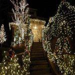 Happyit 4 M 40 LED Waterproof String Lights Xmas Holiday light Lampes décorées à l'extérieur pour fête Mariage Jardin Fée de Noël (Multicolore) de la marque Happyit image 3 produit