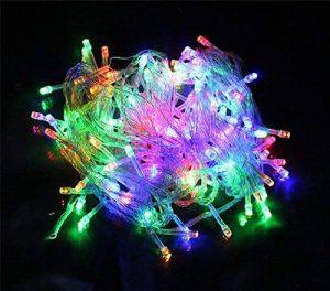 Happyit 4 M 40 LED Waterproof String Lights Xmas Holiday light Lampes décorées à l'extérieur pour fête Mariage Jardin Fée de Noël (Multicolore) de la marque Happyit image 0 produit