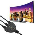 HDMI Switch 4k | GANA 3-Port HDMI Splitter Cable | Hdmi Câble Commutateur Prend en Charge 4K/1080P/3D Pour Xbox / PS3 / PS4 / Apple TV / Roku / Fire TV / Blue-Ray DVD Player de la marque GANA image 4 produit
