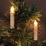 Hengda 50 set LED Bougies de Noël avec prise de courant sans fil intérieur chaud blanc arbre bougies Bougies de sapin de Noël de la marque Hengda image 1 produit