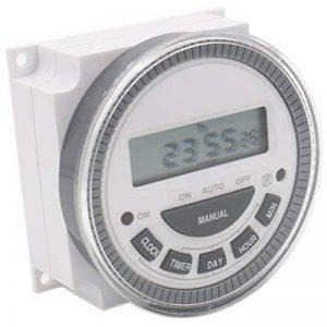 Heschen hebdomadaire de puissance numérique LCD programmable Minuteur Relais commutateur 220–250VAC 16Amp Spst 5broches de la marque Heschen image 0 produit