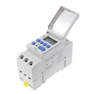 Homyl Minuterie Numérique Programmateur Din Rail LCD Hebdomadaire Temps Alarme - Blanc 220 v de la marque Homyl image 0 produit