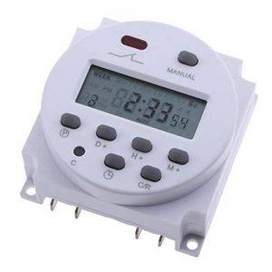 Homyl Programmateur Interrupteur Relais Temporisateur Écran LCD Minuterie Numérique - Blanc 220v de la marque Homyl image 0 produit