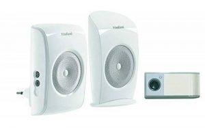Honeywell D3100S Kit Carillon sans fil 4 mélodies 150 m avec Carillon enfichable Blanc Evo+ de la marque Honeywell image 0 produit
