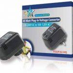 HQ P.SUP.32-HQ Convertisseur de tension 230 V vers 110 V 45 W de la marque HQ image 1 produit