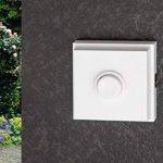 HUBER 12103 bouton de sonnette montage en saillie, 1 carré, en polystyrène de la marque Huber image 1 produit