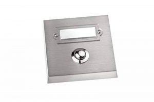 HUBER bouton de sonnette, 1 x 12046 rectangulaire pour montage en saillie avec porte de la marque Huber image 0 produit