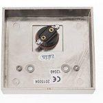 HUBER bouton de sonnette, 1 x 12046 rectangulaire pour montage en saillie avec porte de la marque Huber image 3 produit