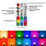 iLC Ampoule Led baillonette RGBChangement deCouleur,b22 Ampoules Led RGBWDimmable Blancchaud(2700K) 10W - Equivalenceincandescence 60W, Lampe LedAngle de Faisceau 270°,900Lumen,85CRISuper high Display,Baïonnette Douille,LumiereledLumière d'hu image 1 produit