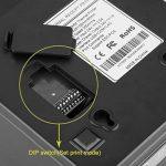 Imprimante Thermique de Reçu 300mm/s 80mm EXCELVAN AUTO-CUT USB COM Internet(100M)Ethernet Port série Andriod&IOS Windows&Linux Support Noir de la marque Excelvan image 3 produit