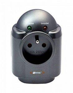Infosec Parasurtenseur 1 Prise FR + 2 RJ45 - Garantie 2 ans - de la marque Infosec image 0 produit