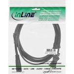 InLine 16650Y 0.5m Coupleur C7 NEMA 1-15P Noir câble électrique - Cables électriques (0,5 m, Mâle/Femelle, Coupleur C7, NEMA 1-15P, 125, Noir) de la marque InLine image 1 produit