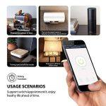 Intelligente Prise,Prise Connectée Intelligente WiFi Prise Compatible avec Android iOS Alexa Prises Télécommandées Prise Courant Intelligente Prise de Courant Mise en Veille Programmable Smart (WIFI Commande Prise lot de 2) de la marque GresatekEU image 2 produit