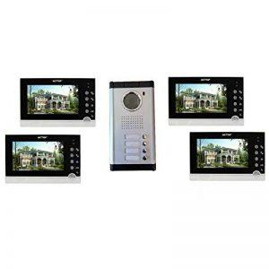 interphone 4 appartements sans fil TOP 6 image 0 produit