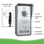 interphone portier sans fil TOP 11 image 1 produit