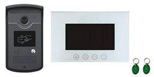Interphone Vidéo Cards avec Lecteur de Badge RFID - Mémoire Photos de la marque BT Security image 0 produit