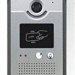 Interphone Vidéo Cards avec Lecteur de Badge RFID - Mémoire Photos de la marque BT Security image 3 produit