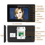Interphone Vidéo Sonnette 7 Pouces Filaire Sonnette Vidéo 1 Caméra 1 Moniteur avec Application WiFi de la marque YL-Light Sonnette image 4 produit