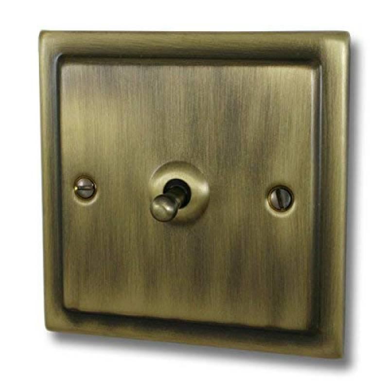 interrupteurs Cuisinière variateur d/'intensité Bright cuivre TBC2 Branchez Douilles Toggle