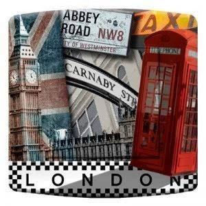 Interrupteur décoré Simple va et Vient : London Phone de la marque DKO interrupteur image 0 produit