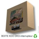 Interrupteur décoré Simple va et Vient : New York Taxi de la marque DKO interrupteur image 2 produit