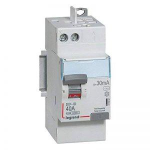 interrupteur différentiel legrand dx3 40a 30ma 2 poles type ac - vis / auto de la marque Legrand image 0 produit