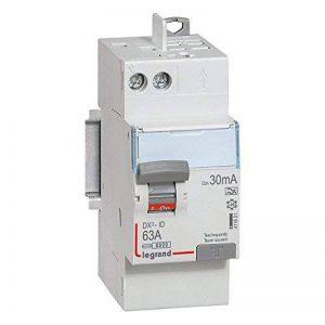 interrupteur différentiel legrand dx3 63a 30ma 2 poles type a - vis / auto de la marque Legrand image 0 produit