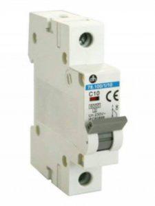 Interrupteur Disjoncteur magnéto-thermique 1P 10a-6ka de la marque ElectroDH image 0 produit