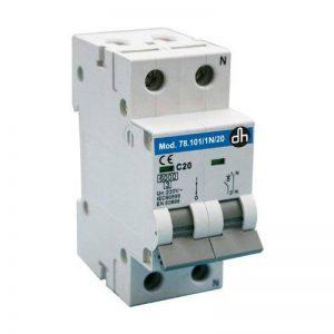 Interrupteur Disjoncteur magnéto-thermique 1P + N 10a-6ka classe c de la marque ELECTROWIFI image 0 produit