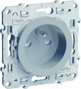 interrupteur gris alu TOP 2 image 0 produit