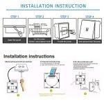 interrupteur lumière télécommande TOP 9 image 4 produit