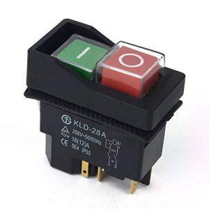 Interrupteur marche/arrêt. Bouton compatible avec Belle Minimix 140et Minimix 150 240V - Mitigeur électrique pour ciment/béton par BMS de la marque BMS image 0 produit