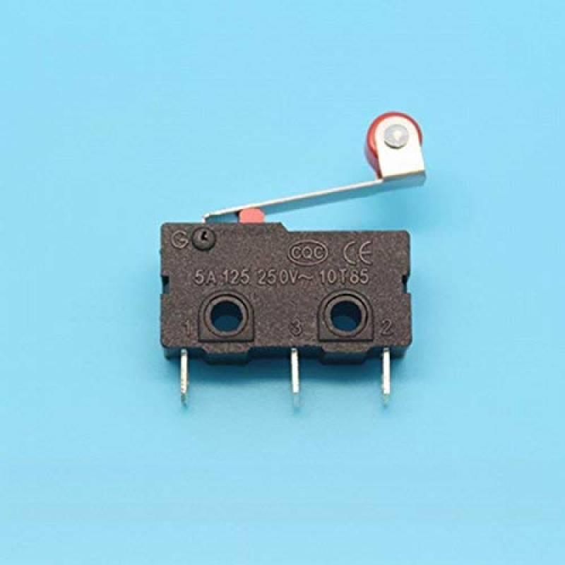 Cylewet Lot de 25/Micro Interrupteurs avec Levier /à Longue Charni/ère AC 1/A 125/V 3 Broches Limite SPDT pour Arduino CLW1073