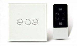 Interrupteur à minuterie standard de l'UE tactile avec télécommande White Wall Variateur Touch rf433mhz Smart Home de la marque Rongda Smart Home image 0 produit