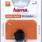 Interrupteur pour véhicules, rond, 4 A/12 V de la marque Hama image 1 produit