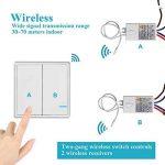 interrupteur sans fil pour éclairage extérieur TOP 4 image 1 produit